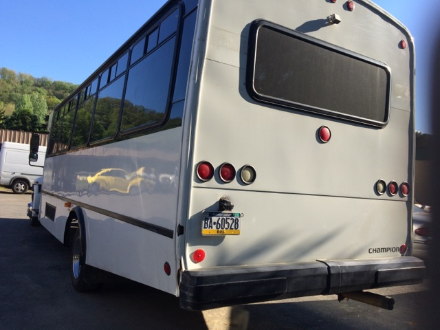 Large Party Bus 2 Rear